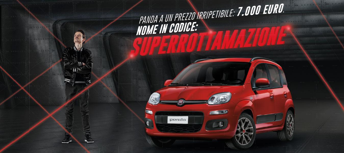 Fiat Panda con superrottamazione