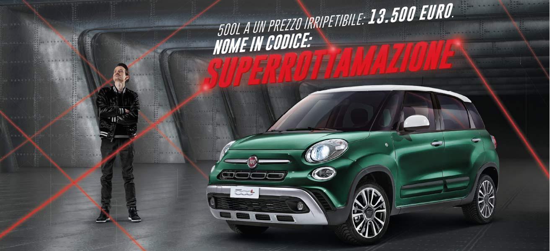 Fiat 500l Ad Un Prezzo Irripetibile 13 500 Euro Da Spazio A Torino