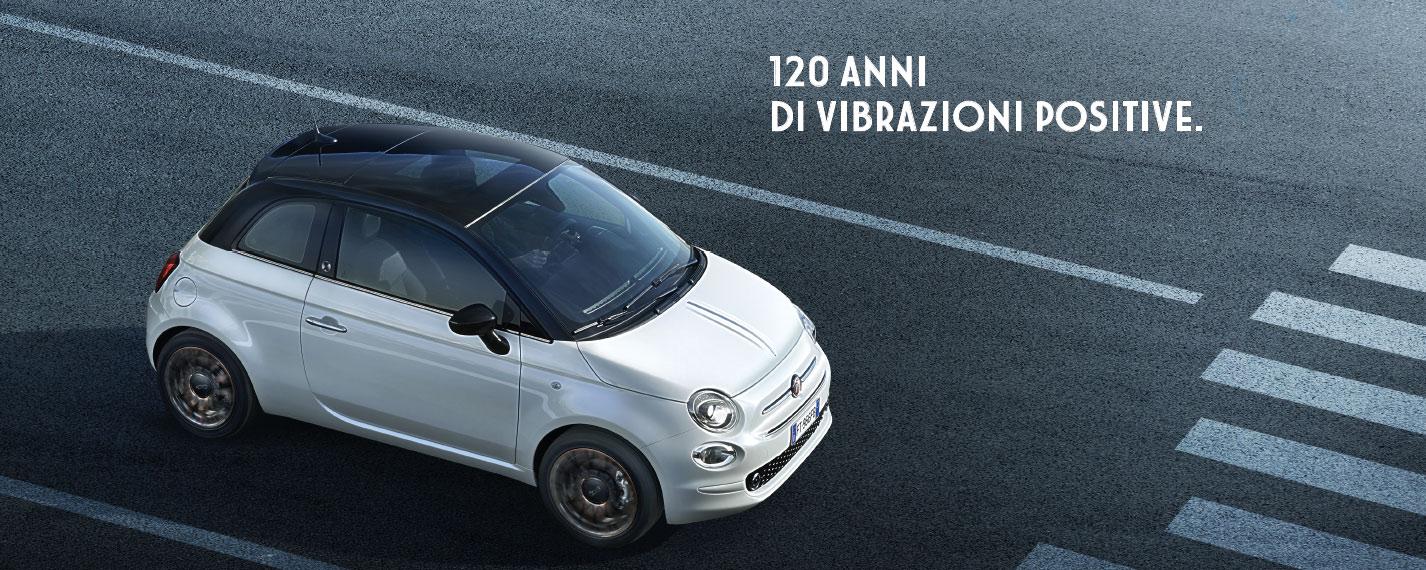 Fiat 500 edizione speciale 120°