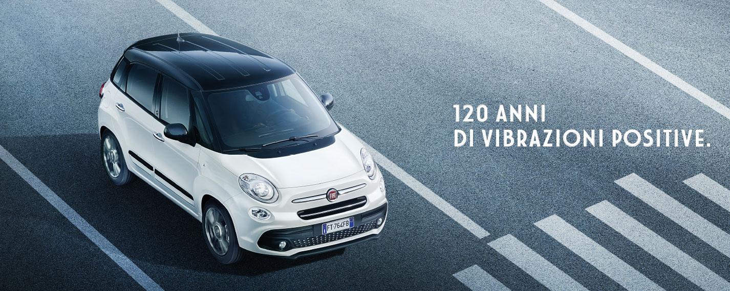 Fiat 500L edizione speciale 120°