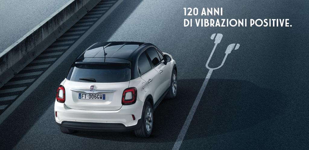 Fiat 500 X edizione 120°