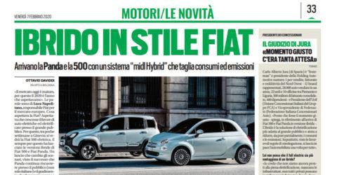 Ibrido in stile Fiat