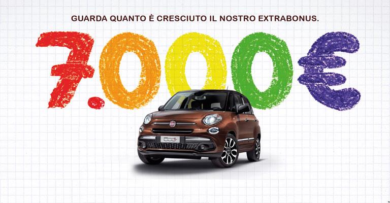 Gamma Fiat 500 L Torino