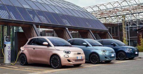 Ricarica Fiat 500 elettrica Torino