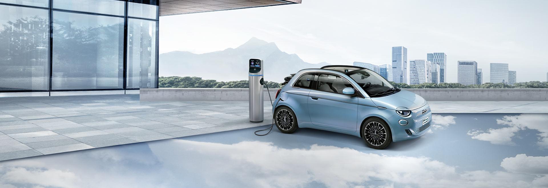 Nuova Fiat 500 elettrica Torino