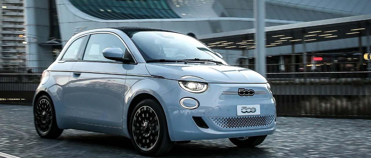 Fiat 500 elettrica a Torinow