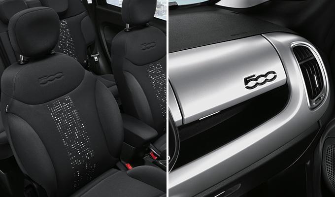 Interni nuova gamma Fiat 500 L Torino
